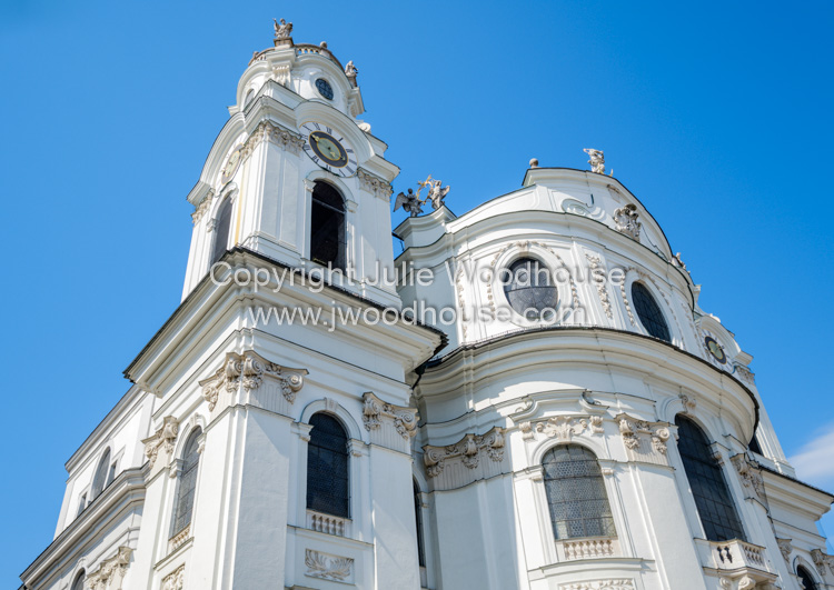 photo showing Kollegienkirche Collegiate Church, Salzburg, Austria