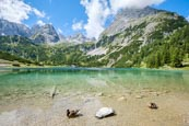 Thumbnail image of Seebensee in front of the Mieminger Mountain range, Ehrwald, Tyrol, Austria