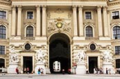 Thumbnail image of Alte Hofburg from Michaelerplatz, Vienna