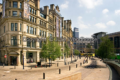 photo showing Exchange Square,  Manchester