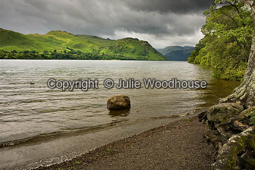 photo showing Ullswater, Lake District, Cumbria