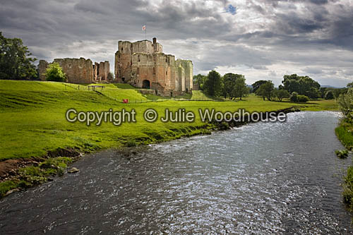 photo showing Brougham Castle And River Eamont, Cumbria