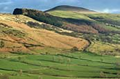 Thumbnail image of view towards Hollins Cross, near Castleton, Derbyshire