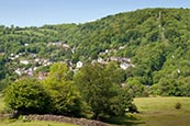 Thumbnail image of view over Matlock Bath, Derbyshire, England