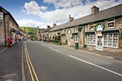 Castleton Village, Derbyshire