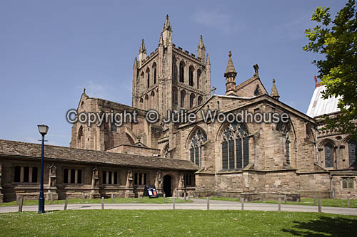 photo showing Hereford Cathedral I