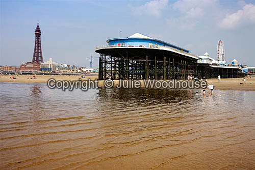 photo showing Blackpool Central Pier & Tower