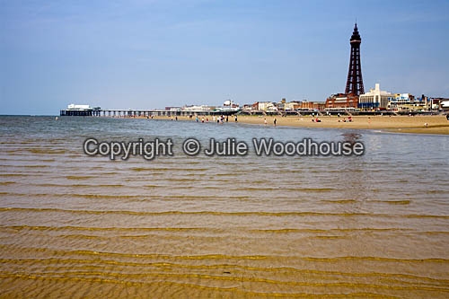 photo showing Blackpool Beach & Tower