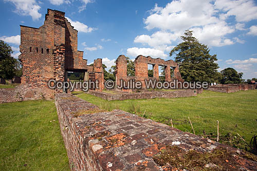 photo showing Bradgate Park, Leicester - Bradgate House Ruins, Leicestershire