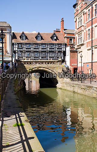 photo showing River Witham With High Bridge, Lincoln