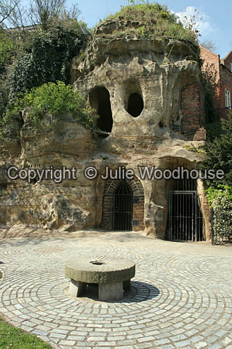photo showing Caves Below Nottingham Castle