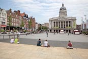 Thumbnail image of Market Square with Council House and old buildings, Nottingham, Nottinghamshire, England