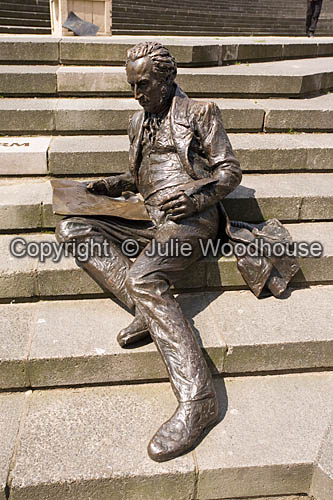 photo showing Thomas Attwood Statue In Chamberlain Square, Birmingham