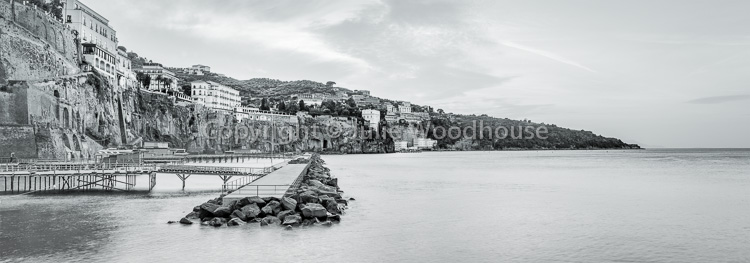 photo showing Town Viewed From Marina Piccola, Sorrento, Campania, Italy