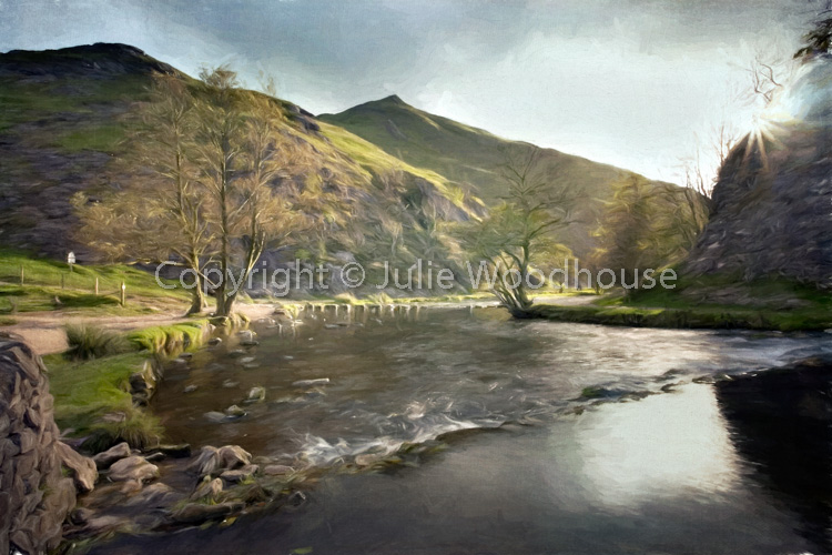 photo showing Dovedale, Derbyshire Peak District, England