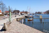Wieck Harbour, Greifswald, Germany