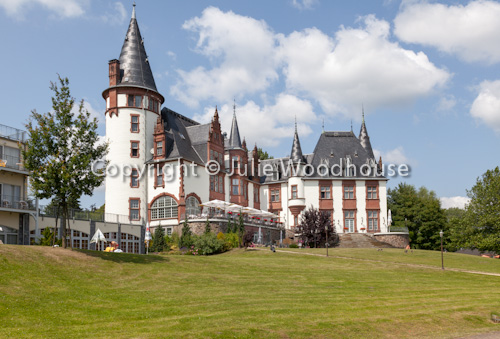 photo showing Schloss Klink, Müritz National Park, Mecklenburg Vorpommern, Germany