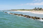 Thumbnail image of Wustrow Beach with breakwater rocks, Mecklenburg-Vorpommern, Germany