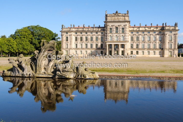 photo showing Ludwigslust Palace And Cascade, Mecklenburg-Vorpommern, Germany