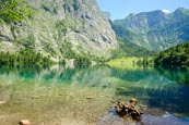 Thumbnail image of Lake Obersee, Upper Bavaria, Bavaria, Germany, Europe