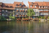 Little Venice, Former Fishermans District On The Regnitz River, Bamberg, Bavaria, Germany