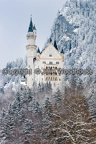 photo showing Schloss Neuschwanstein, Fuessen, Germany