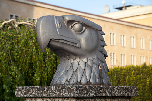 photo showing Eagle Square, Tempelhof - Eagle Head By Wilhelm Lemke, 1940, Berlin, Germany