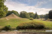 Thumbnail image of Branitz Park with the Land Pyramid, Cottbus, Brandenburg, Germany