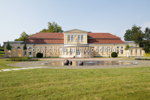 photo showing Orangerie In The Palace Gardens, Neustrelitz, Mecklenburg-Vorpommern, Germany