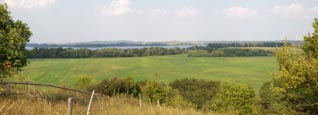 View From The Kleiner Rummelsberg Over The Parsteiner See, Barnim / Uckermark, Brandenburg, Germany