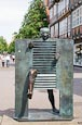 Thumbnail image of statue Homme passant la porte by Jean Ipoustéguy, Celle, Lower Saxony, Germany