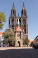 Cathedral, Altstadt, Meissen, Saxony, Germany