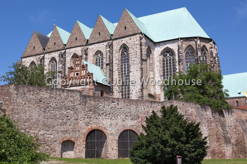 photo showing St Petri Church, Magdeburg, Saxony Anhalt, Germany