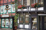 Thumbnail image of timber frame buildings in the old town, Halberstadt, Saxony Anhalt, Germany