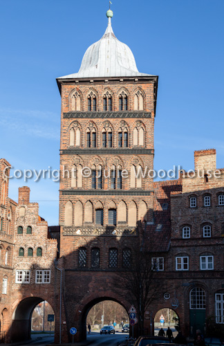 photo showing Burgtor, Luebeck, Schleswig-Holstein, Germany