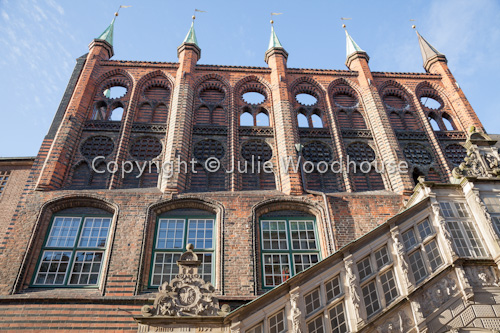 photo showing Rathaus, Luebeck, Schleswig-Holstein, Germany