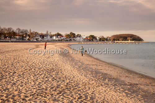 photo showing Travemuende Beach, Schleswig-Holstein, Germany