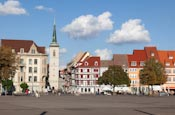 Thumbnail image of Domplatz with Allerheiligenkirche, Erfurt, Thuringia, Germany