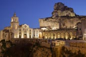 Church Of Santa Maria De Idris And San Giovanni In Monterrone, Matera, Basilicata, Italy