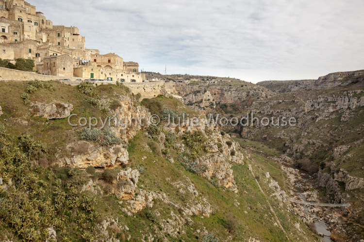 photo showing Torrente Gravina, Matera, Basilicata, Italy