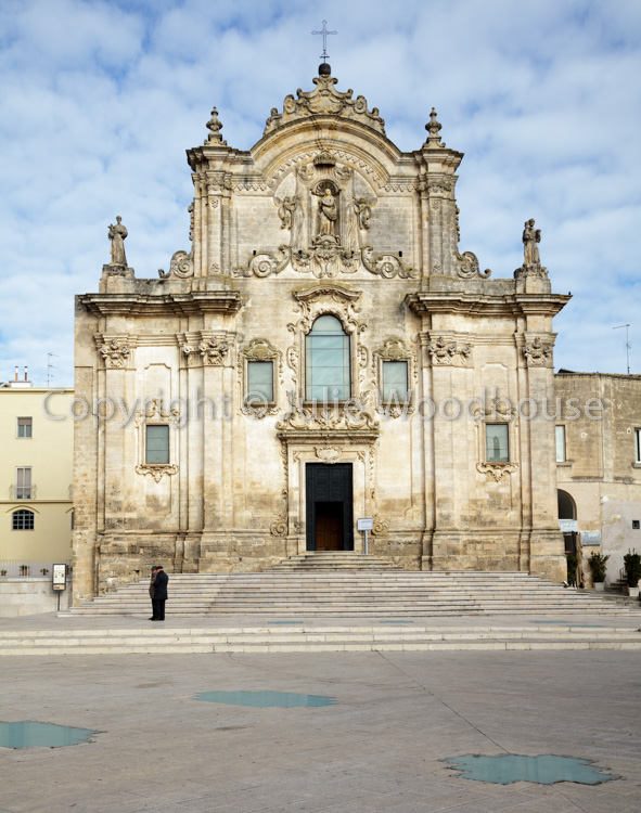 photo showing Church Of Saint Francis Of Assisi, Matera, Basilicata, Italy