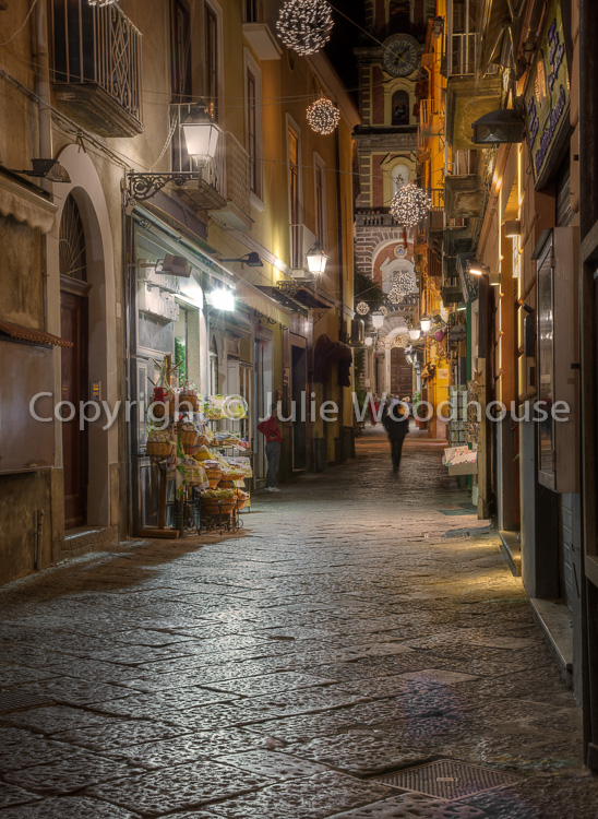 photo showing Street In The Old Town, Sorrento, Campania, Italy