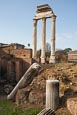 The Roman Forum, Temple Of Castor And Pollux, Rome, Italy