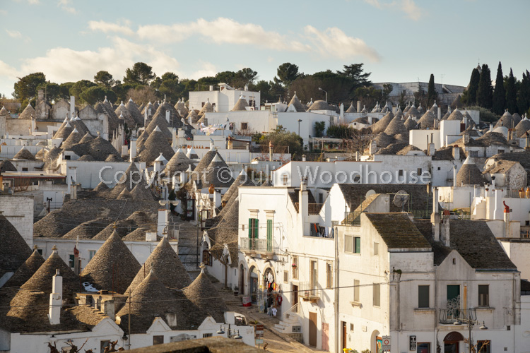 photo showing View Over The Trulli In The Rione Monti District Of 