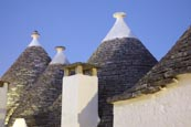 Typical Trulli In Alberobello, Puglia, Italy