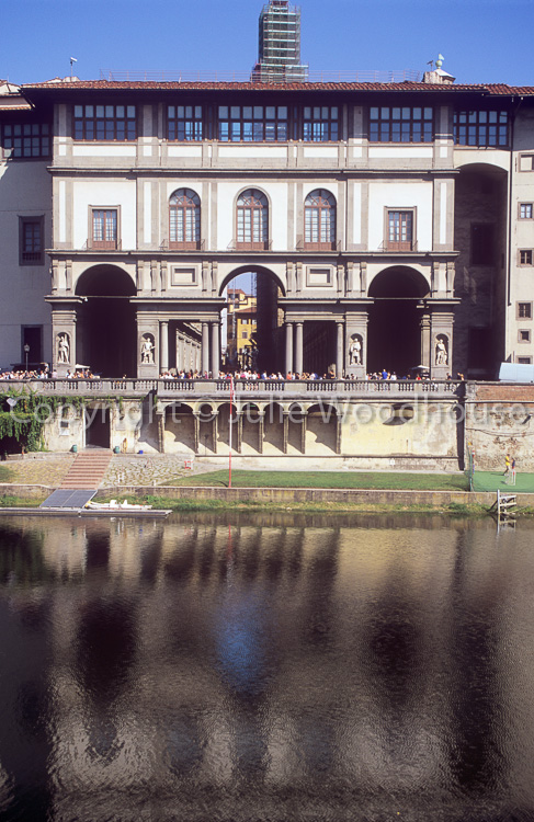 photo showing Uffizi Gallery, Florence