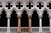 Doges Palace, The Fatal Pillars, Venice