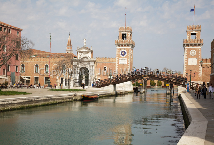 photo showing Arsenal Viewed From Fondamenta Arsenale -  Arsenale Di Venezia, Venice, Veneto, Italy