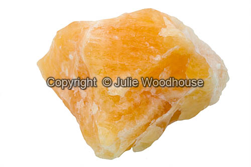 photo showing Orange Calcite