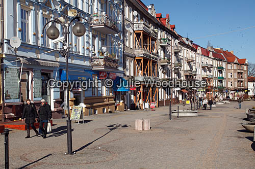photo showing Old Town Pedestrian Area, Slubice, Poland